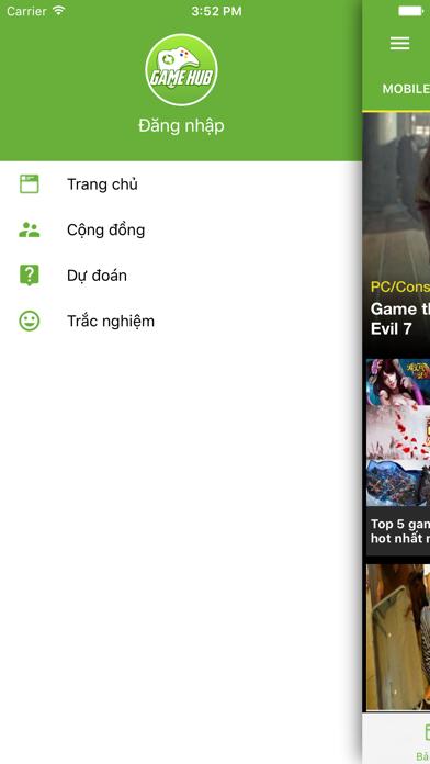 Gamehub - Mạng xã hội dành cho game thủ Việt screenshot four