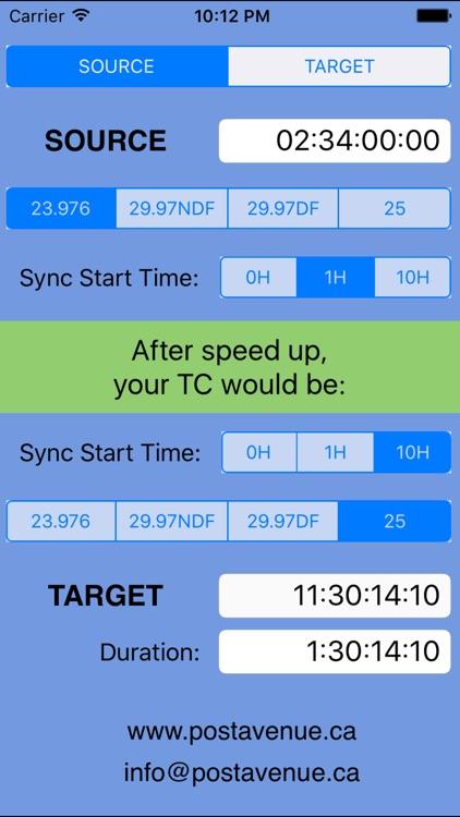 Timecode TC Organizer