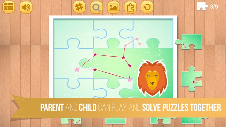 Kids Jigsaw Puzzle World : Astronomy & Universe - Game for Kids for learning screenshot-4