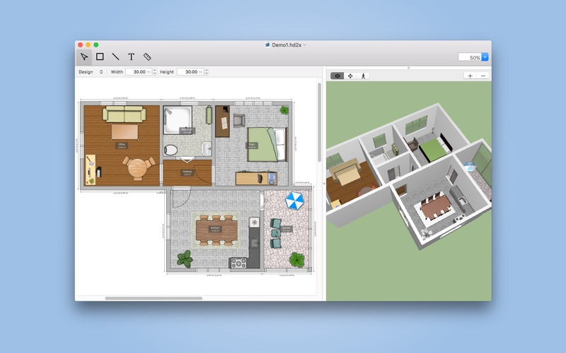 screenshot 1 for house design pro - Mac House Design