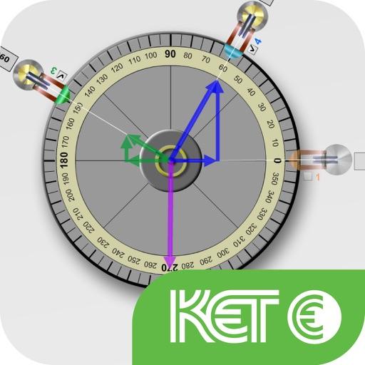 KET Virtual Physics Labs - Force Table