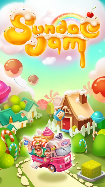 Icecream Sundae Jam - FREE Match 3 Puzzle & Arcade Game