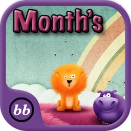 Months Of year Learning For Toddlers using Flashcards and sounds-A toddler calendar learning app