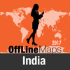 India Offline Map and Travel Trip Guide