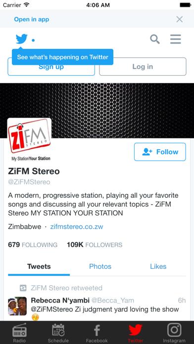 ZiFM Stereo screenshot three