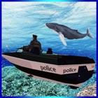 Fly Submarine Car: Police Boat