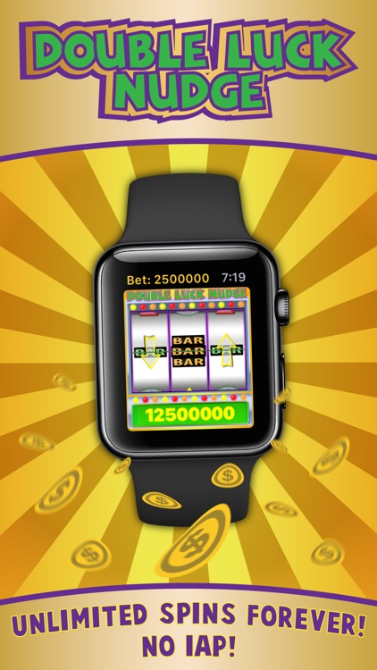 Double Luck Nudge Slots for Apple Watch
