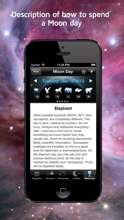 Moonganizer - Moon Calendar, Astrology & Organizer screenshot-1