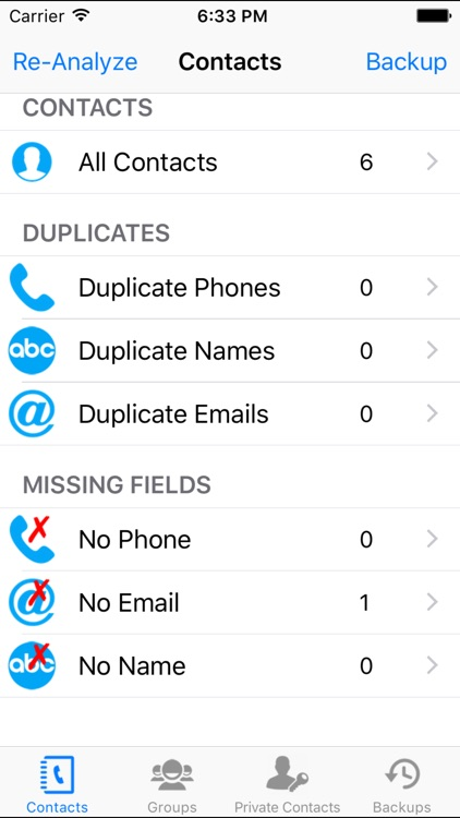 iContacts Pro - (Contacts Manager, Clean Duplicate, Group and Backup)