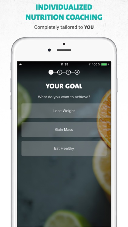 Freeletics Nutrition - Your Clean Eating Coach screenshot-0