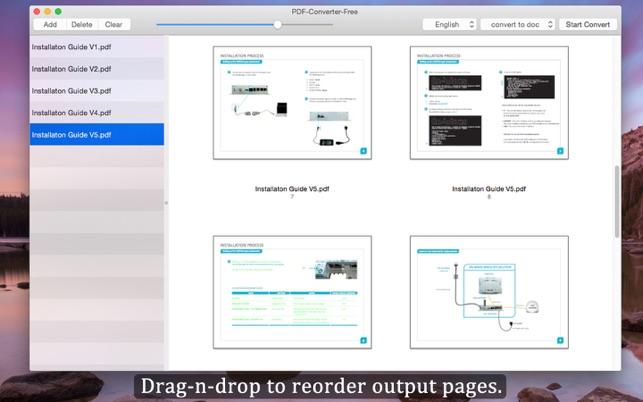 conversion archivo pdf a word gratis