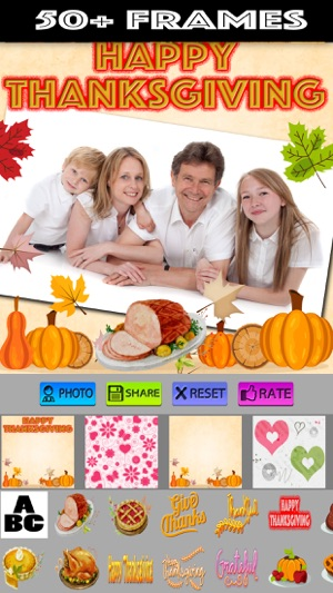 Thanksgiving Photo Frames on the App Store