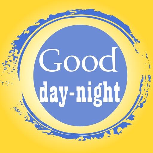 Good Morning / Good Night iOS App