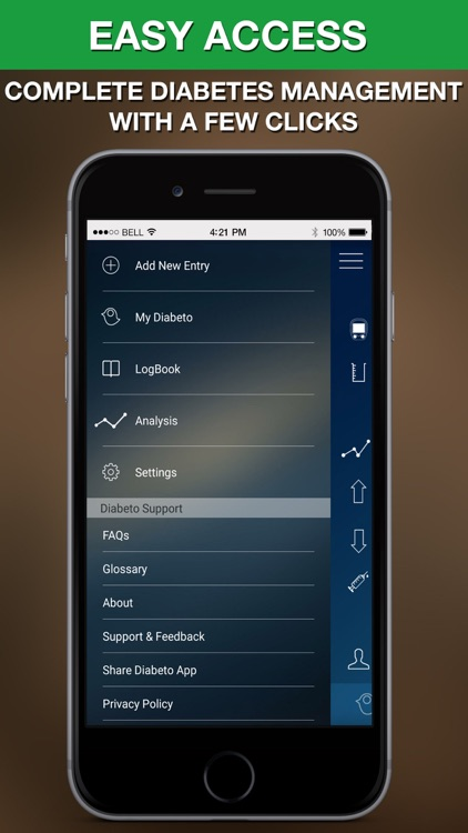Diabeto - Free Diabetes Management App screenshot-3