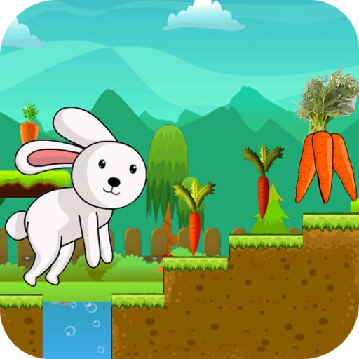Rabbit Run - Endless Adventure Runner Game