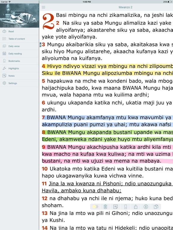 Biblia Takatifu Bible In Swahili Daily Reading By Oleg Shukalovich Ios United States Searchman App Data Information