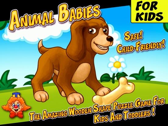 животные для детей - игра для iPad