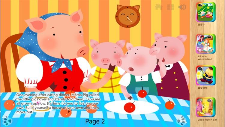 Three Little Pigs - iBigToy screenshot-3