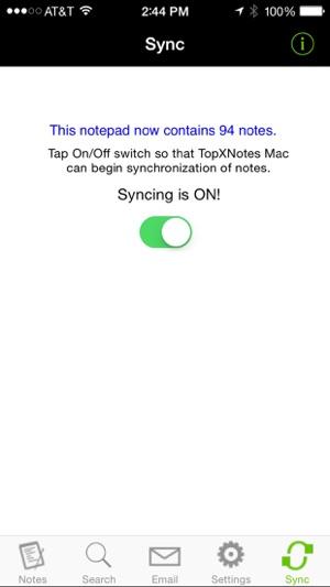 TopXNotes Screenshot