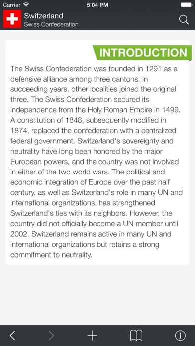 The World Factbook 2012 Screenshot 2