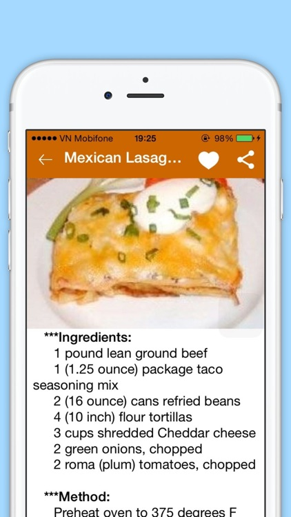 Lasagna Recipes - Cookbook of 200+ Lasagna Recipes Specially Mexican Lasagna,Classic Lasagna, Baked Lasagne and Beef Lasagna screenshot-3