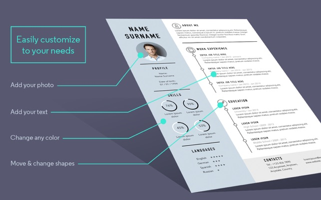 Resume cv templates for pages on the mac app store resume cv templates for pages on the mac app store yelopaper Choice Image