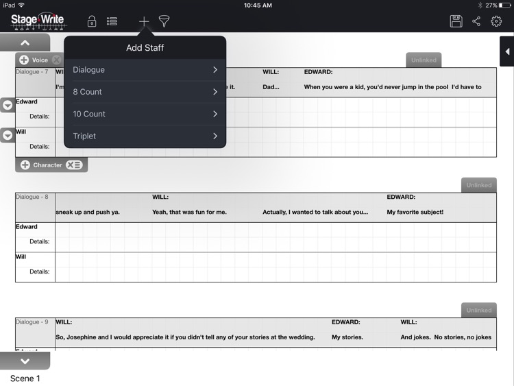 StageWrite for iPad screenshot-4