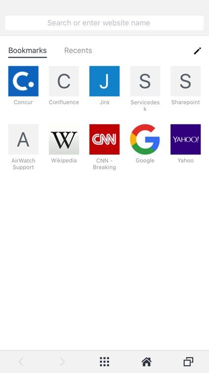 VMware Browser screenshot-3