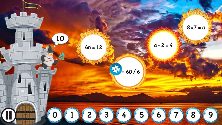 Math Castle - Algebra Fun screenshot-4