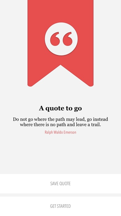 Quotes to Go — Notebook for your Quotes screenshot four