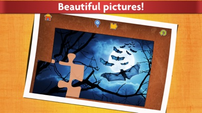 Halloween Puzzles - Relaxing photo picture jigsaw puzzles for kids and adults screenshot four