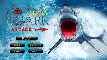 Crazy Shark Attack 3D - A hungry shark simulator-0