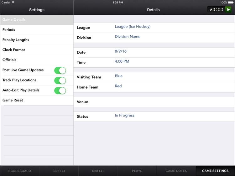 SportsEngine Hockey Scorekeeper screenshot-3