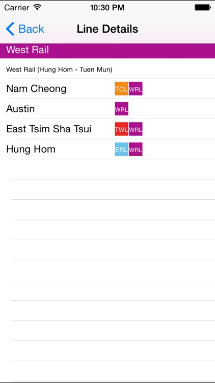 Hongkong Metro Route Planner screenshot-3