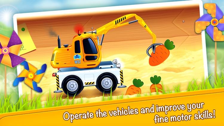 Cars in sandbox: Construction screenshot-0