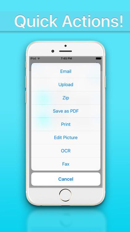 Document Manager - Scan Convert Edit screenshot-3