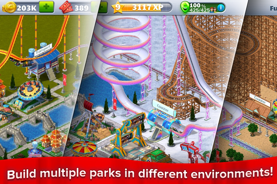 RollerCoaster Tycoon® 4Mobile™ - Online Game Hack and Cheat | Gehack com