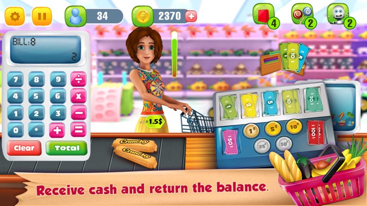 Supermarket Grocery Cashier screenshot-3