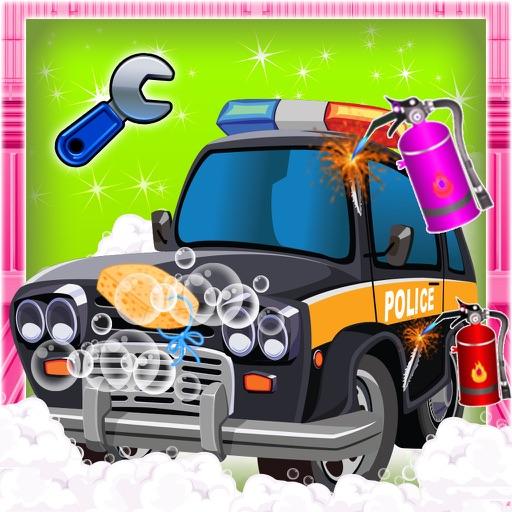 Полиция Ремонт & Fix IT- Очистка Авто автомобиля