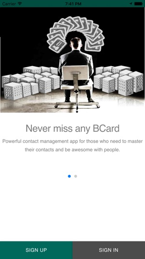 Bcard business card reader on the app store iphone ipad reheart Gallery