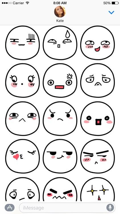 Kawaii Buns stickers screenshot-4