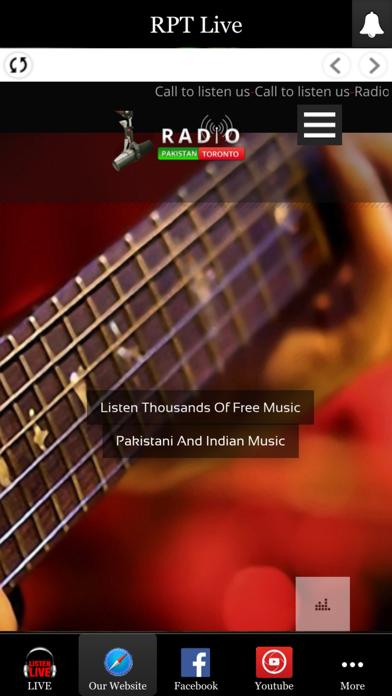 Radio Pakistan Toronto screenshot one