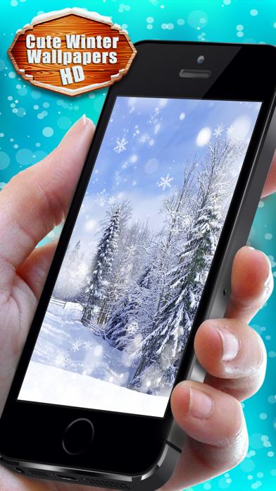 可愛い冬壁紙hd 雪そして氷イメージ Iphoneアプリ Applion