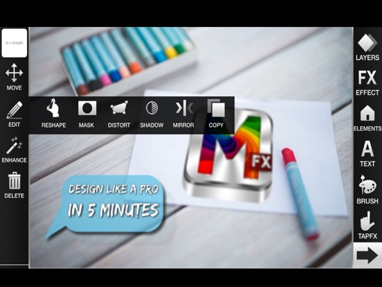 MasterFX HD - Design like a PRO in 5 minutes Screenshot