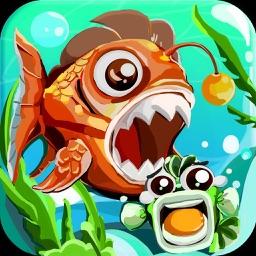 小鱼成长日记 - 好玩的全民大鱼吃小鱼游戏