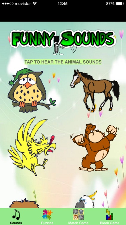 Funny Animals Games for Kids - Sounds and Puzzles for Toddlers