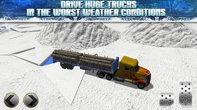 Truck Parking Simulator - Ice Road Truckers Edition screenshot-1
