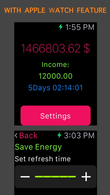 Income Clock - Watch Your Earnings add up in realtime