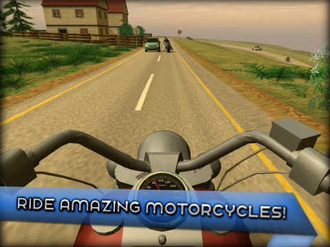 Motorcycle Driving 3D для iPad