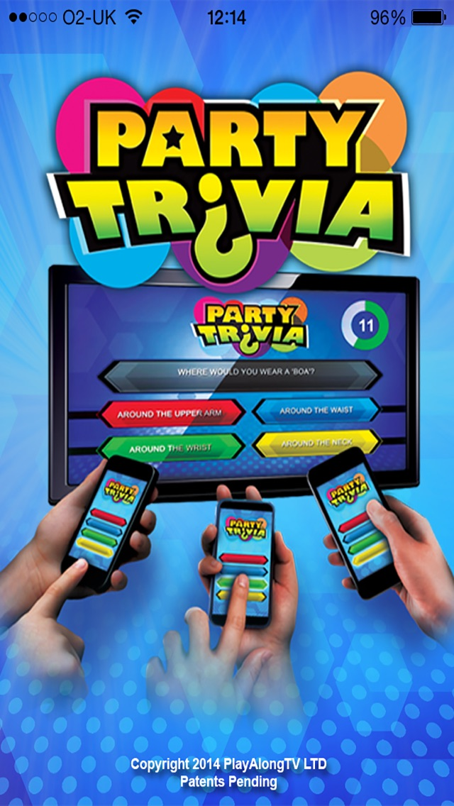 PartyTrivia Screenshot